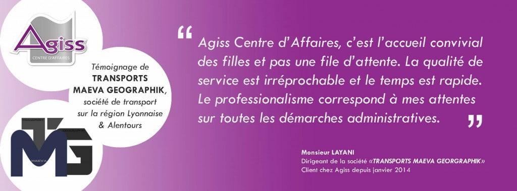 Témoignages clients Agiss Lyon